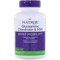 Глюкозамин,  хондроитин и МСМ Natrol, ,  150...