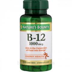 Витамин B-12 Nature's Bounty,  1000 мкг, ...