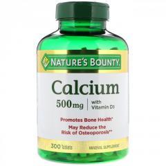Кальций с витамином D3 Nature's Bounty,  300...