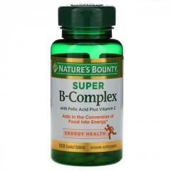 Nature's Bounty, Супер комплекс витаминов В с