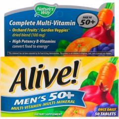 Nature's Way,  Alive! Men's 50+ Complete...