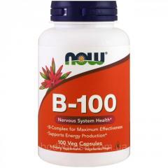 B-100 Now Foods,  100 веганских капсул