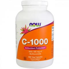 Витамин C-1000 Now Foods,  500 вегетарианских