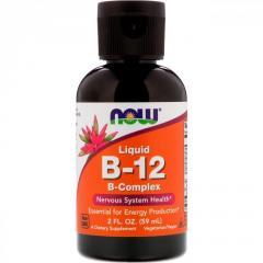 Жидкий B-12 и комплекс витаминов B от Now...