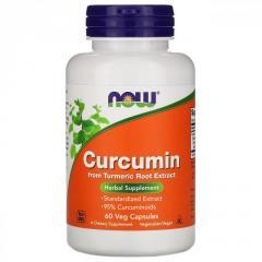 Куркумин Now Foods, ,  60растительных капсул