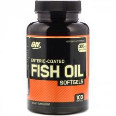 Рыбий жир Optimum Nutrition,  100 мягких...