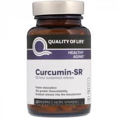 Куркумин-SR Quality of Life Labs,  30...