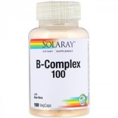 B-комплекс 100 Solaray,  100 вегетарианских...