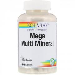 Мультиминералы Solaray,  200 капсул
