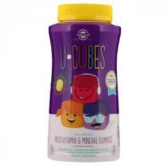 Solgar,  U-Cubes,  жевательные витамины и...