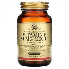 Витамин E Solgar,  смешанные токоферолы, ...