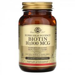 Биотин (Biotin),  высокоэффективный,  10 000...