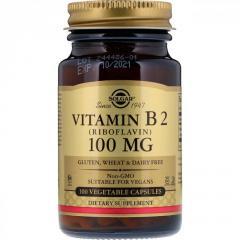 Витамин B2 от Solgar,  100 мг,  100...