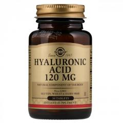 Solgar,  Гиалуроновая кислота,  120 мг.,  30...