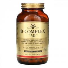Комплекс витаминов В-50 Solgar,  250...