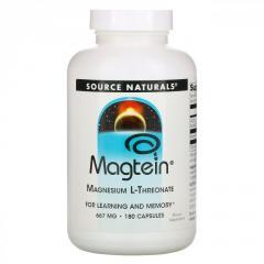 Магний Source Naturals,  магний L-треонат, ...