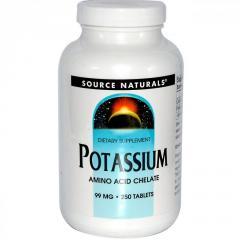 Калий Source Naturals,  99 мг,  250 таблеток