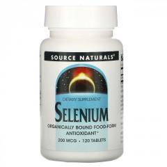 Селен Source Naturals,  200 мкг,  120...