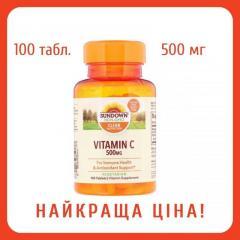 Витамин C Sundown Naturals,  500 мг,  100...