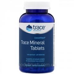 Таблетки с микроэлементами от Trace Minerals...