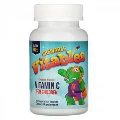 Детский жевательный витамин C от Vitables, ...