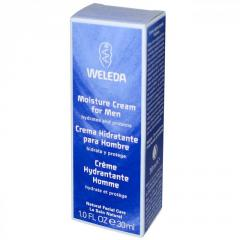 Weleda, Увлажняющий крем для мужчин, 1,0 жидкая
