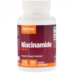 Витамин B3 Никотинамид, 250 мг, Jarrow Formulas,
