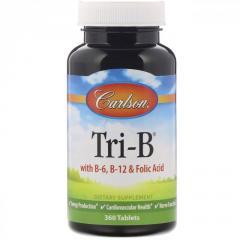 Три витамина группы B - Tri-B - B-6,  B-9...