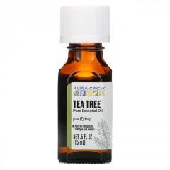 Эфирное масло чайного дерева Aura Cacia,  15...