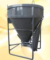 Tub for concrete (1,5 cbm.)