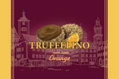TRUFFELLINO candy filled with orange flavor