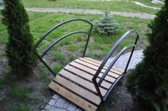 Мостик для садового декора Параллели