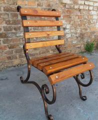 Кованый стул садовый Светлана 0,6м