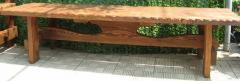 Скамья садовая, деревянная мебель для дачи Русская
