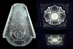 Стекло декоративне,  стекло декороване, ...
