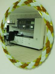 Зеркала интерьерные в  технике фьюзинг