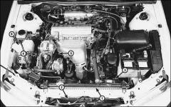 Вентилятор системы охлаждения двигателя