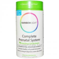 Витамины для беременных, Complete Prenatal System, Rainbow Light, 180 таблеток