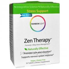 Витамины Антистресс, Zen Therapy, Rainbow Light, 30 таблеток