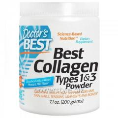 Коллаген тип 1 и 3, Collagen, Doctors Best,