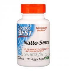 Наттокиназа и серрапептаза, Best Natto-Serra,