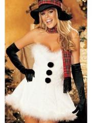 Костюм новогодний костюм снеговика