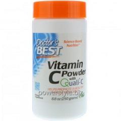 Витамин С в порошке, Doctors Best, 250 грамм