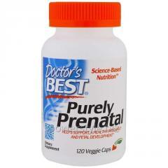 Комплекс для беременных, Purely Prental, Doctor's Best, 120 гелевых капсул