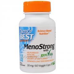 Комплекс для женского здоровья, MenoStrong, Doctor's Best, 30 мг, 60 гелевых капсул