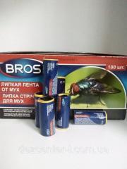 Липка стрічка Брос (BROS) від мух 100 шт