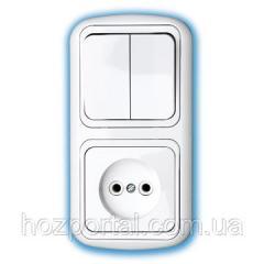 Блок электроустановочный (Выключатель