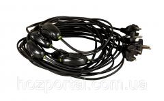 Шнур с переключателем для торшеров и бра 4А 220В