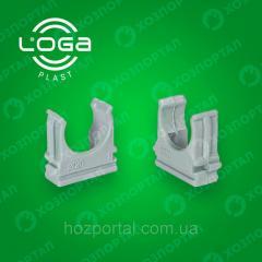 Крепеж для гофры и трубы d:20mm