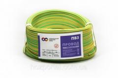 ПВ 3 1*0.75мм2 жёлто-зелёный.СКЗ.ГОСТ.